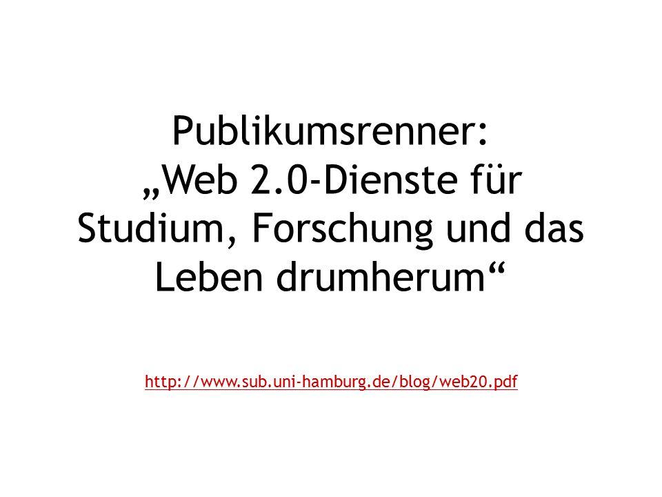 """Publikumsrenner: """"Web 2"""