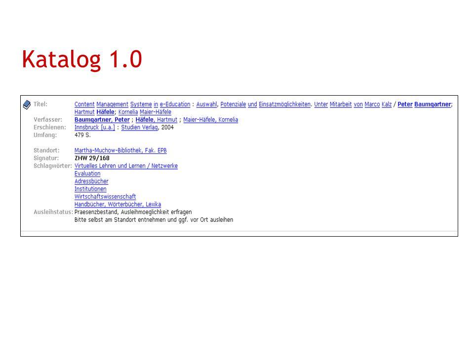 Katalog 1.0