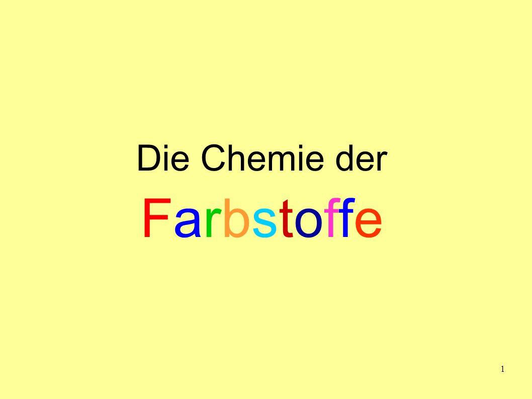 Die Chemie der Farbstoffe