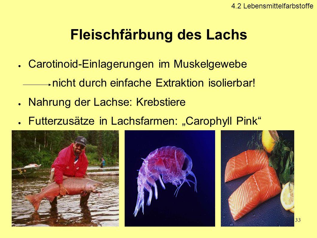 Fleischfärbung des Lachs