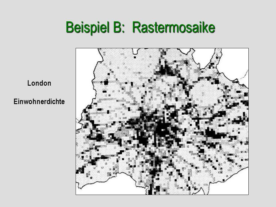 Beispiel B: Rastermosaike