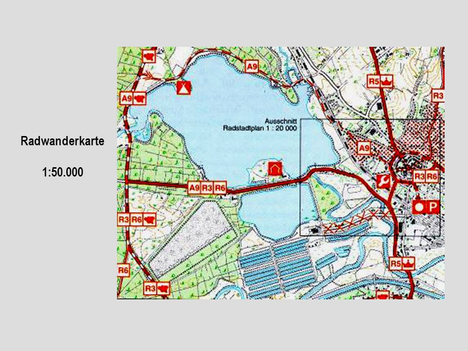 Radwanderkarte 1:50.000