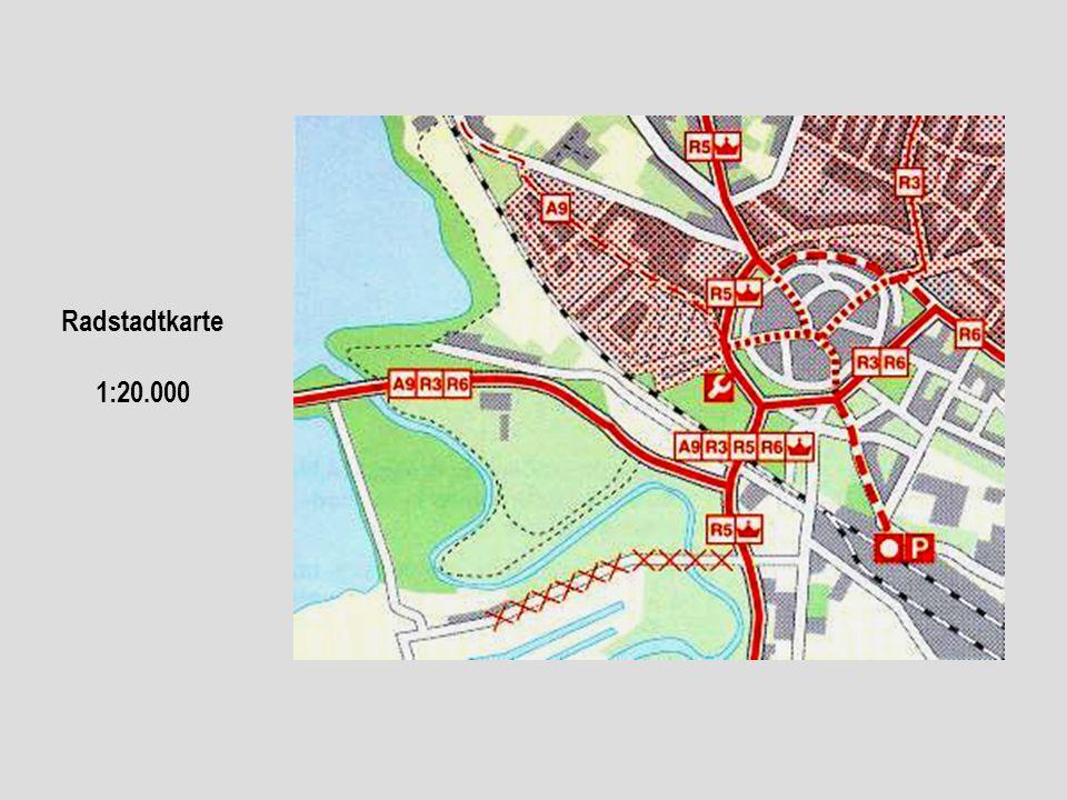 Radstadtkarte 1:20.000