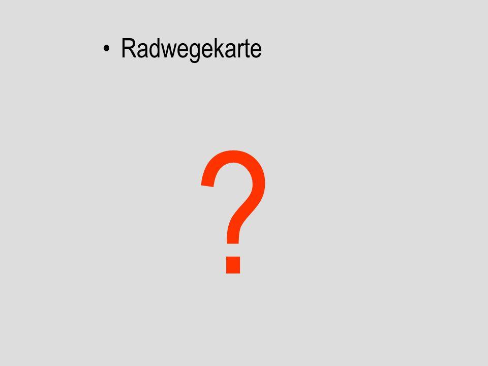 Radwegekarte
