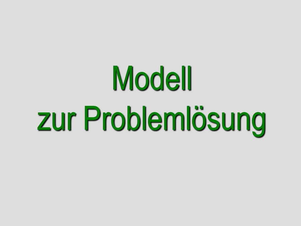 Modell zur Problemlösung