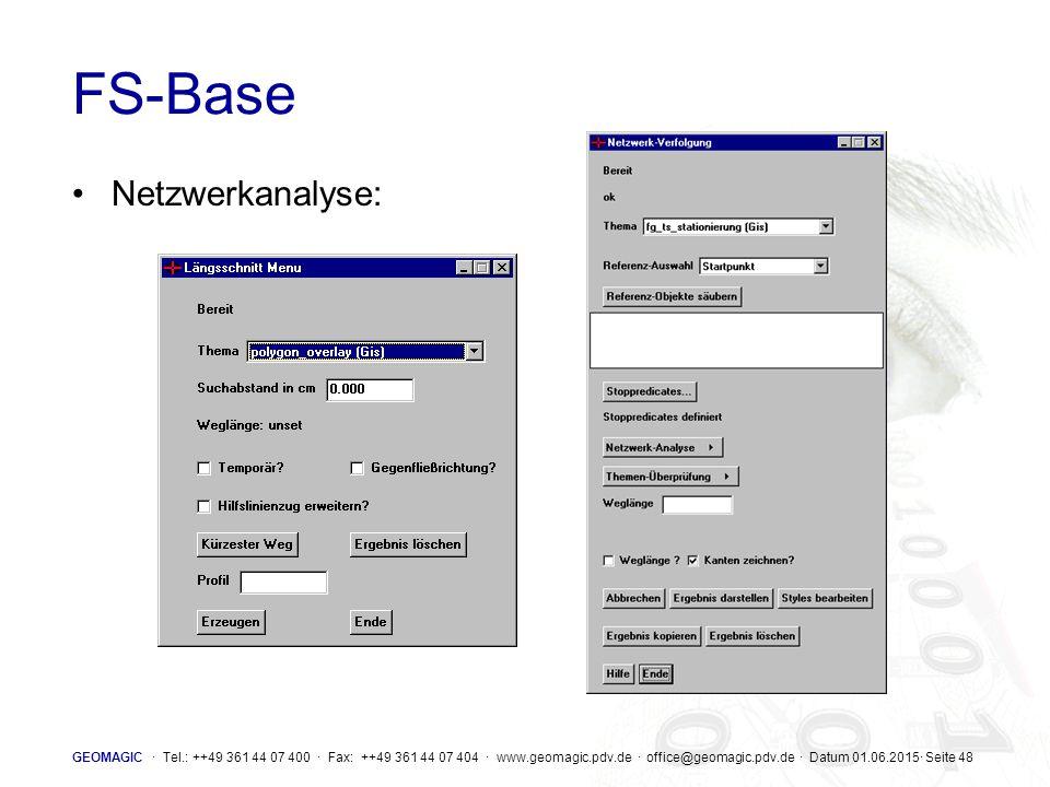 FS-Base Netzwerkanalyse: