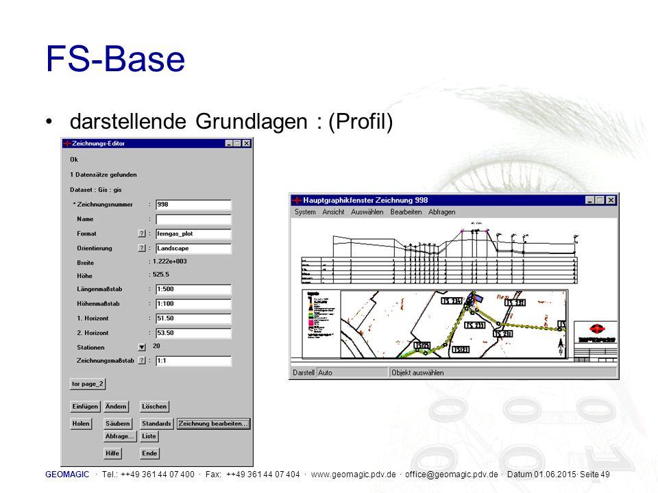 FS-Base darstellende Grundlagen : (Profil)