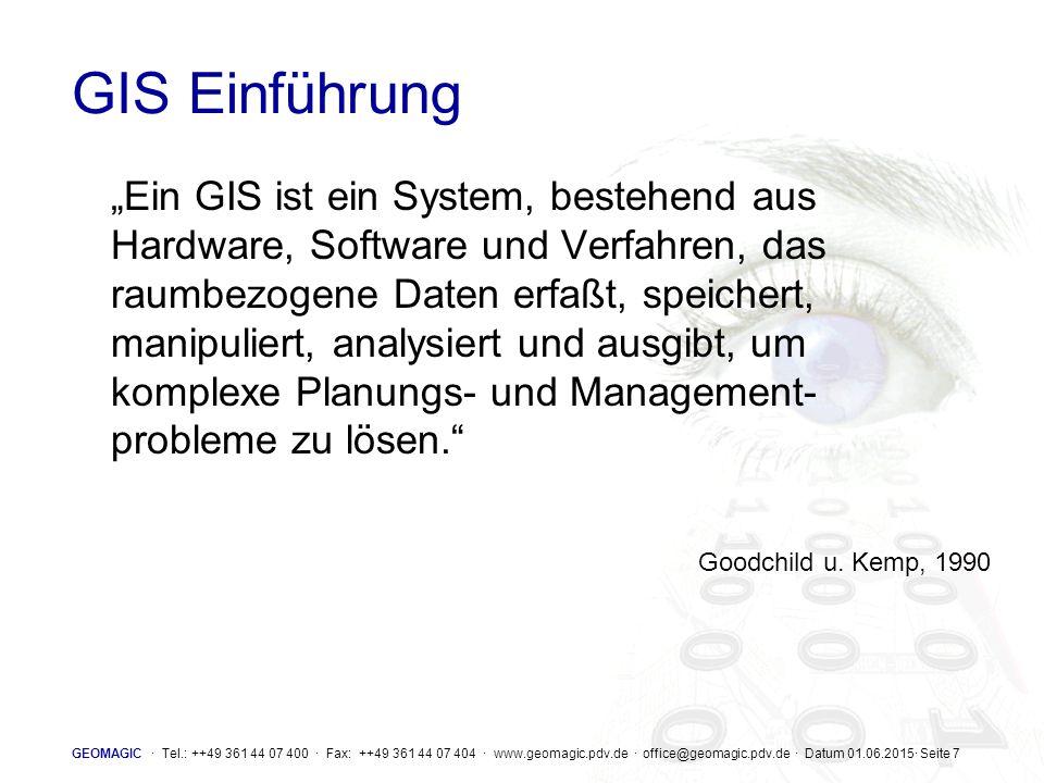 GIS Einführung