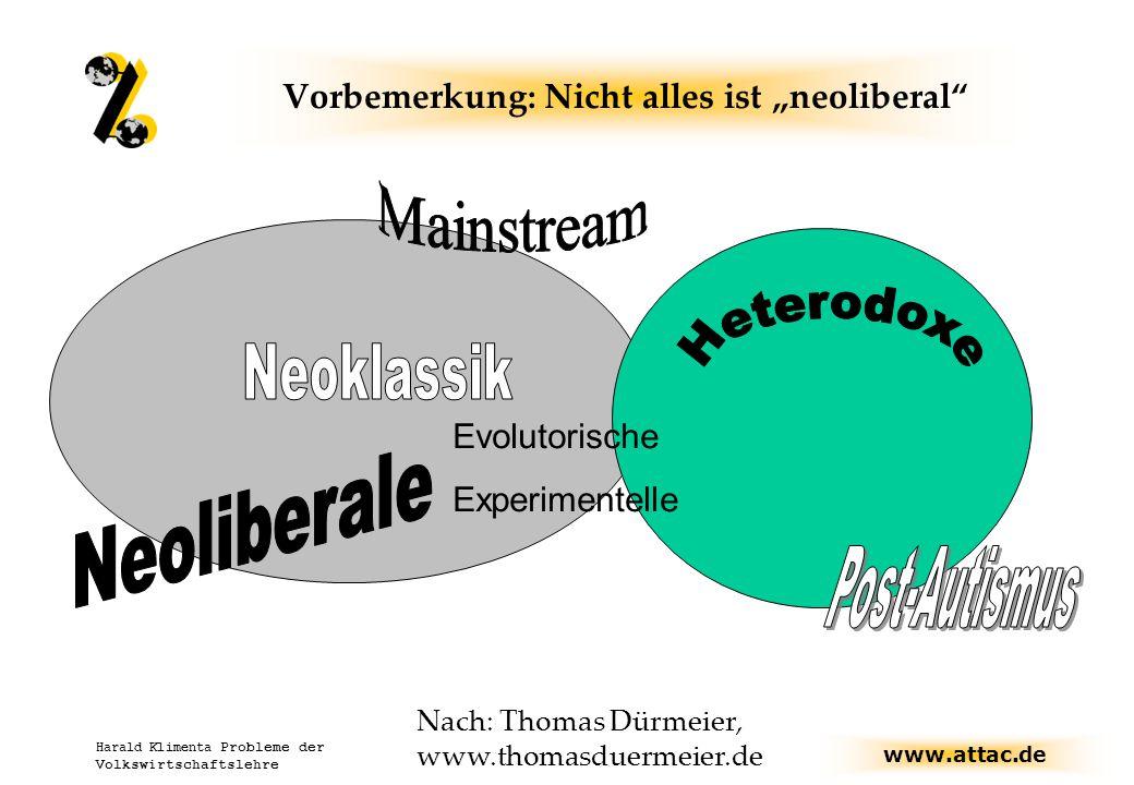 """Vorbemerkung: Nicht alles ist """"neoliberal"""