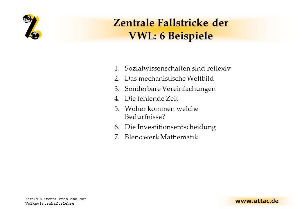Zentrale Fallstricke der VWL: 6 Beispiele