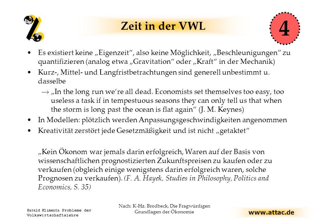 Nach: K-Hz. Brodbeck, Die Fragwürdigen Grundlagen der Ökonomie