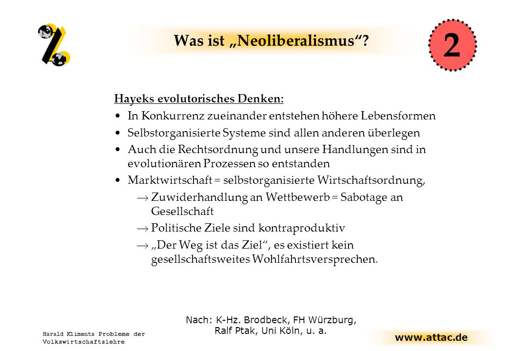 "Was ist ""Neoliberalismus"