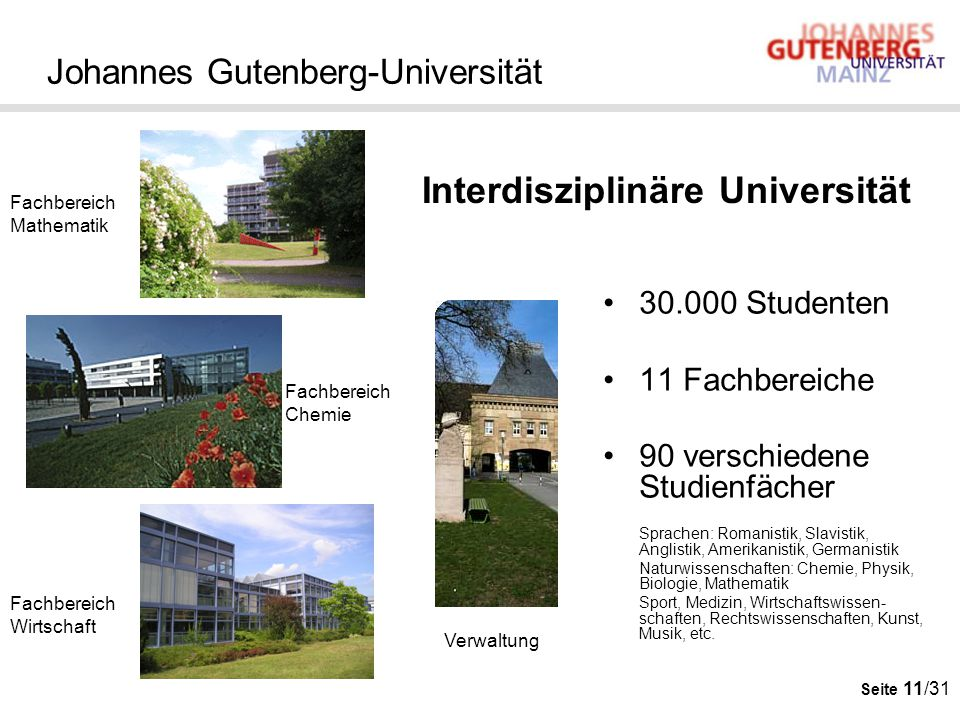 Johannes Gutenberg-Universität
