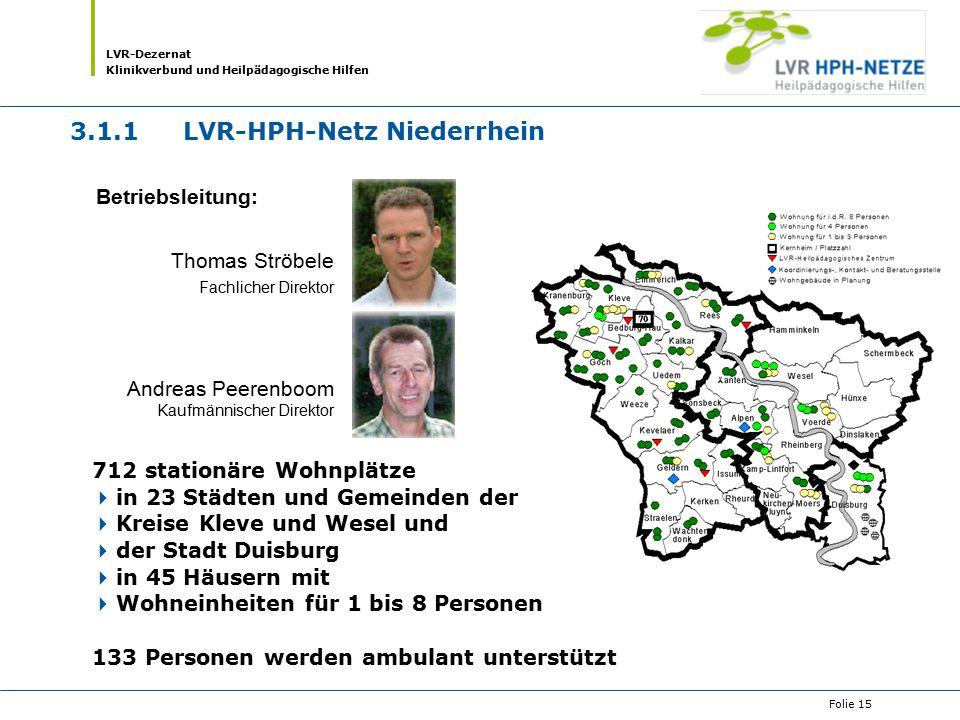 3.1.1 LVR-HPH-Netz Niederrhein