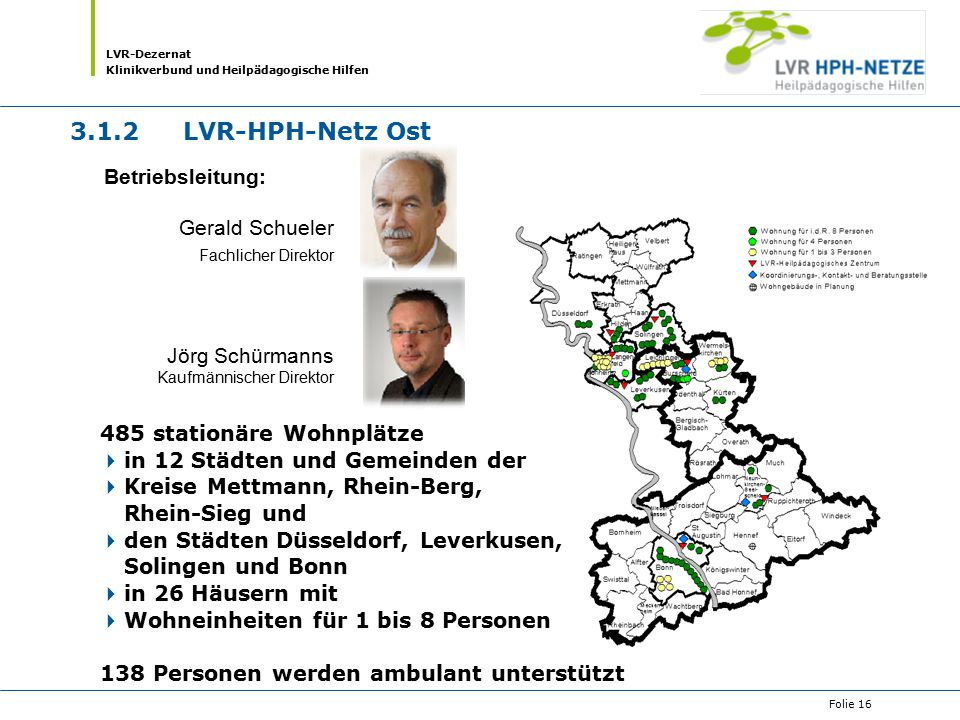 3.1.2 LVR-HPH-Netz Ost Betriebsleitung: