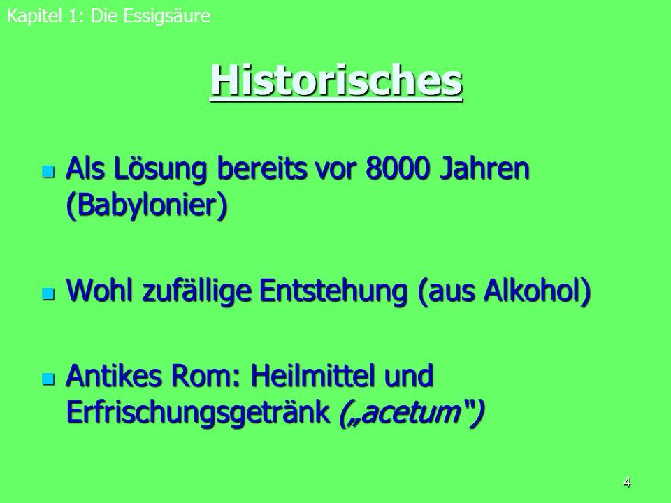 Historisches Als Lösung bereits vor 8000 Jahren (Babylonier)