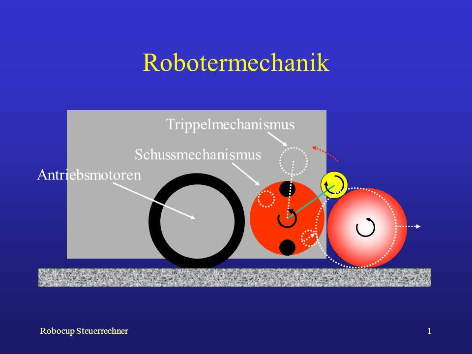 Robotermechanik Trippelmechanismus Schussmechanismus Antriebsmotoren