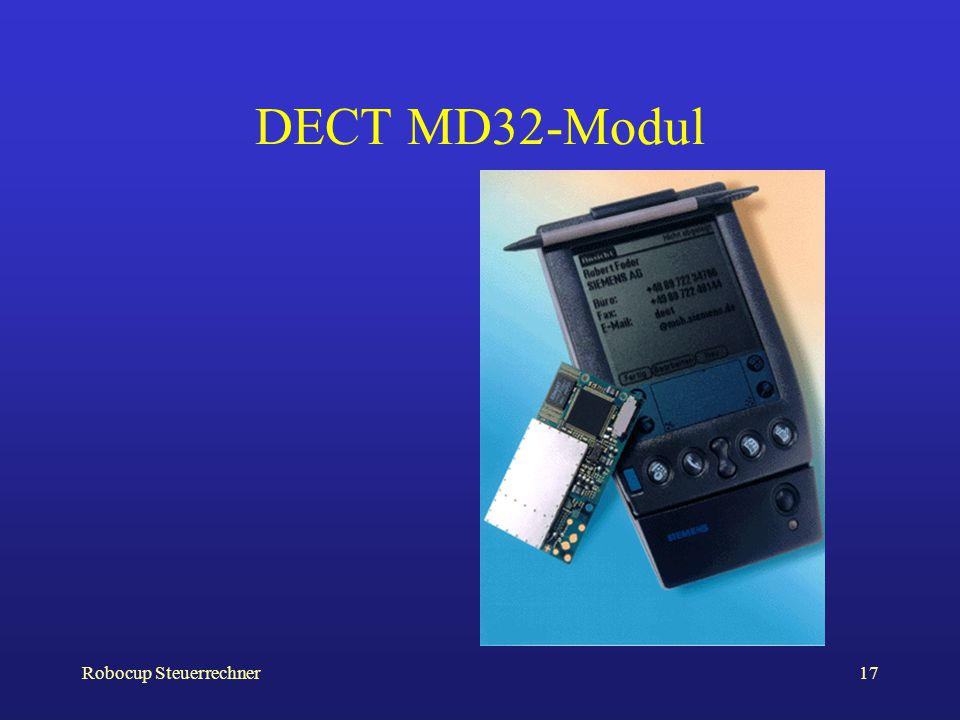 DECT MD32-Modul Robocup Steuerrechner