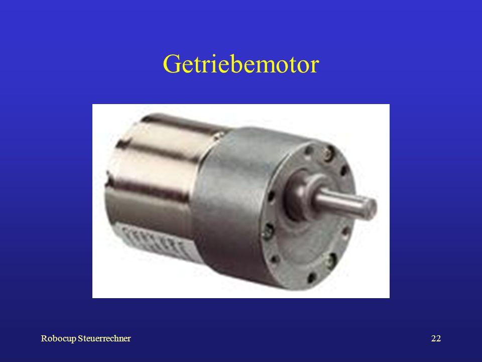 Getriebemotor Robocup Steuerrechner