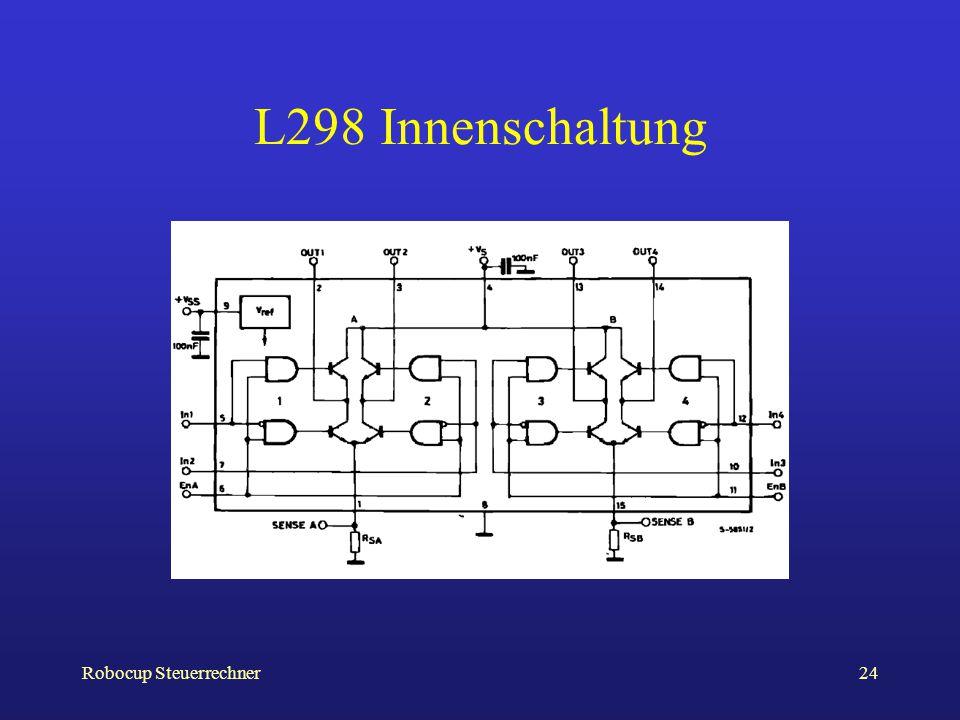L298 Innenschaltung Robocup Steuerrechner