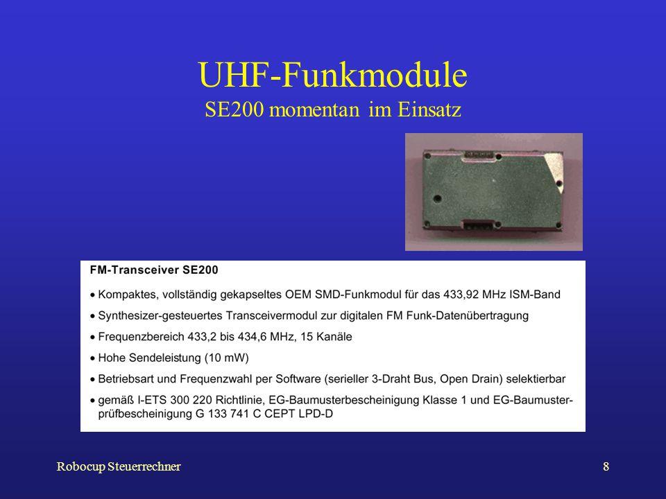 UHF-Funkmodule SE200 momentan im Einsatz