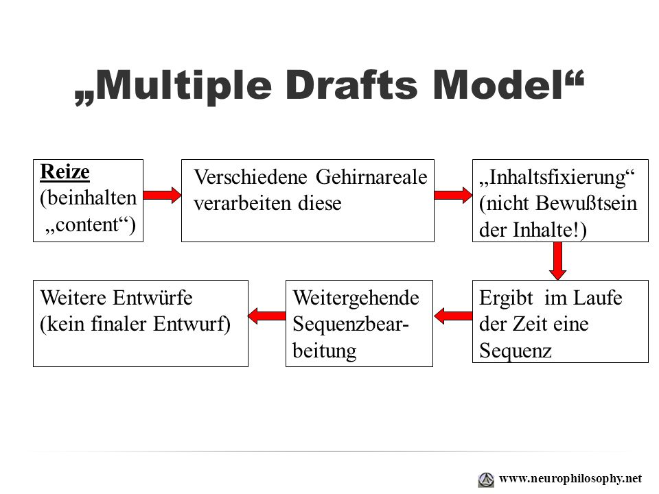 """Multiple Drafts Model"