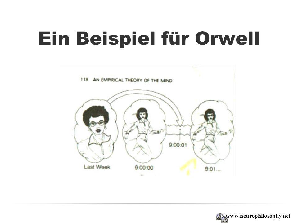 Ein Beispiel für Orwell