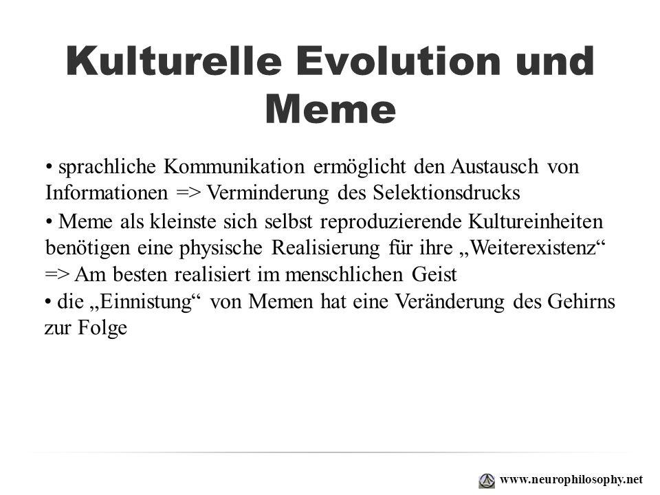 Kulturelle Evolution und Meme