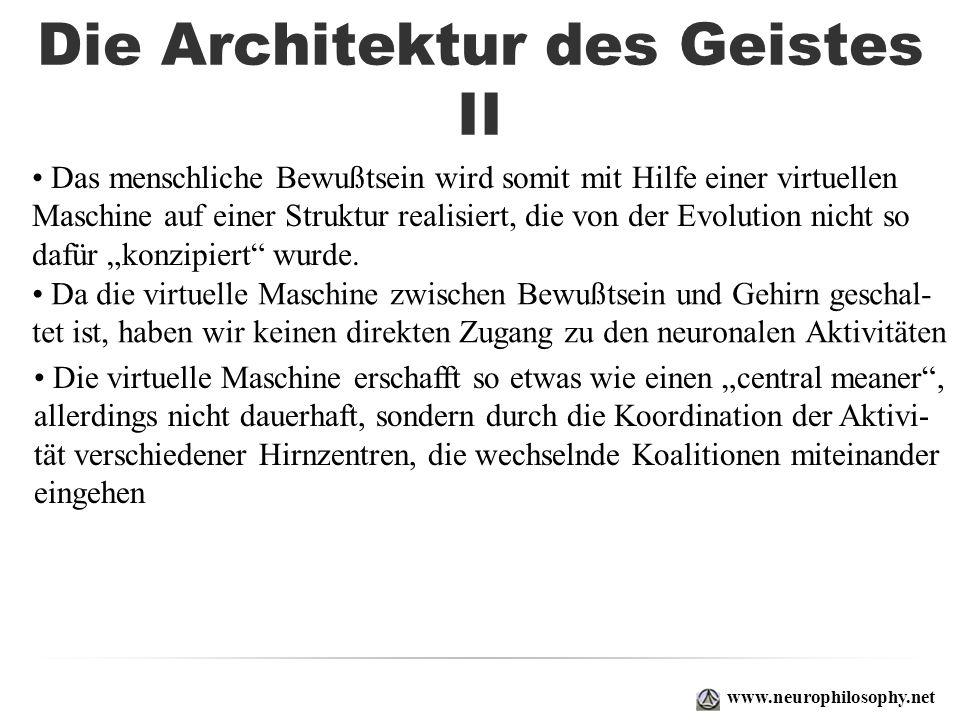 Die Architektur des Geistes II
