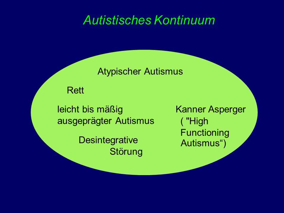 Autistisches Kontinuum