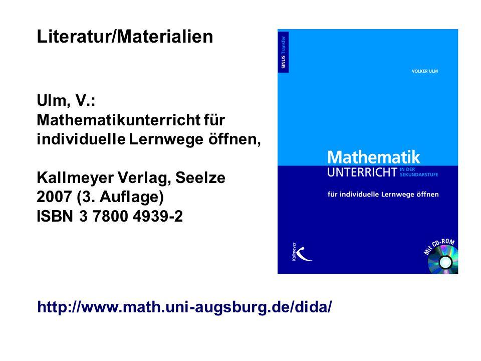 Literatur/Materialien Ulm, V