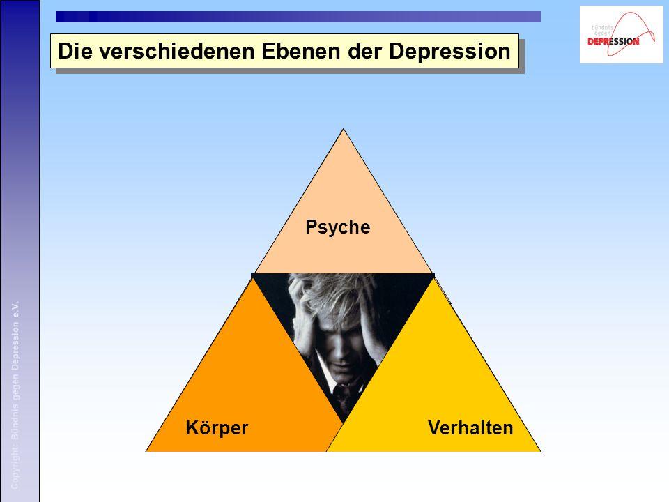Die verschiedenen Ebenen der Depression