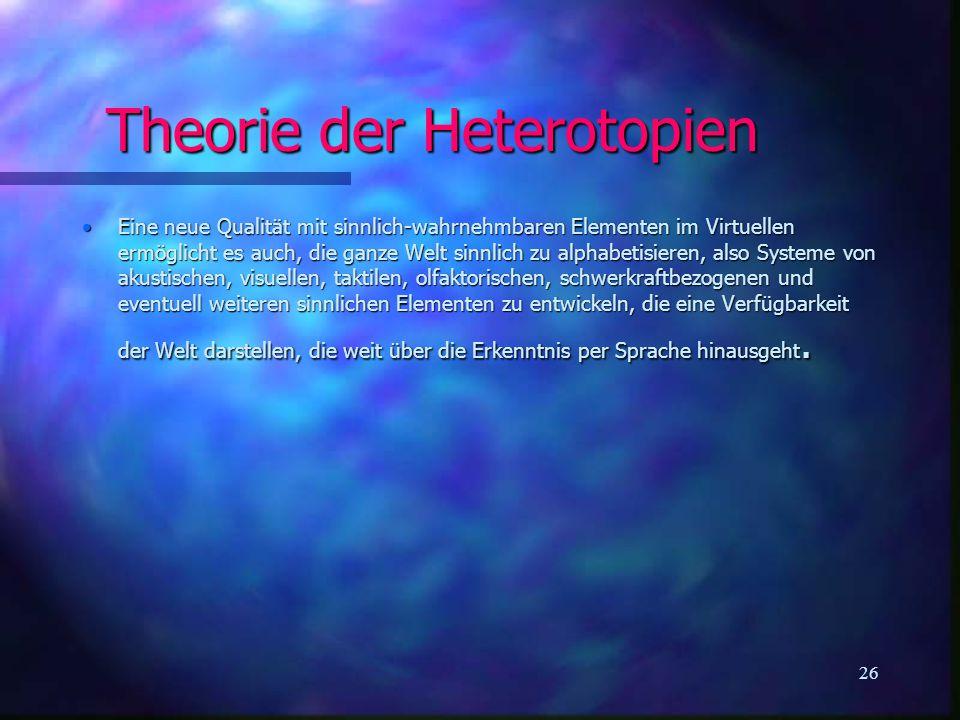 Theorie der Heterotopien