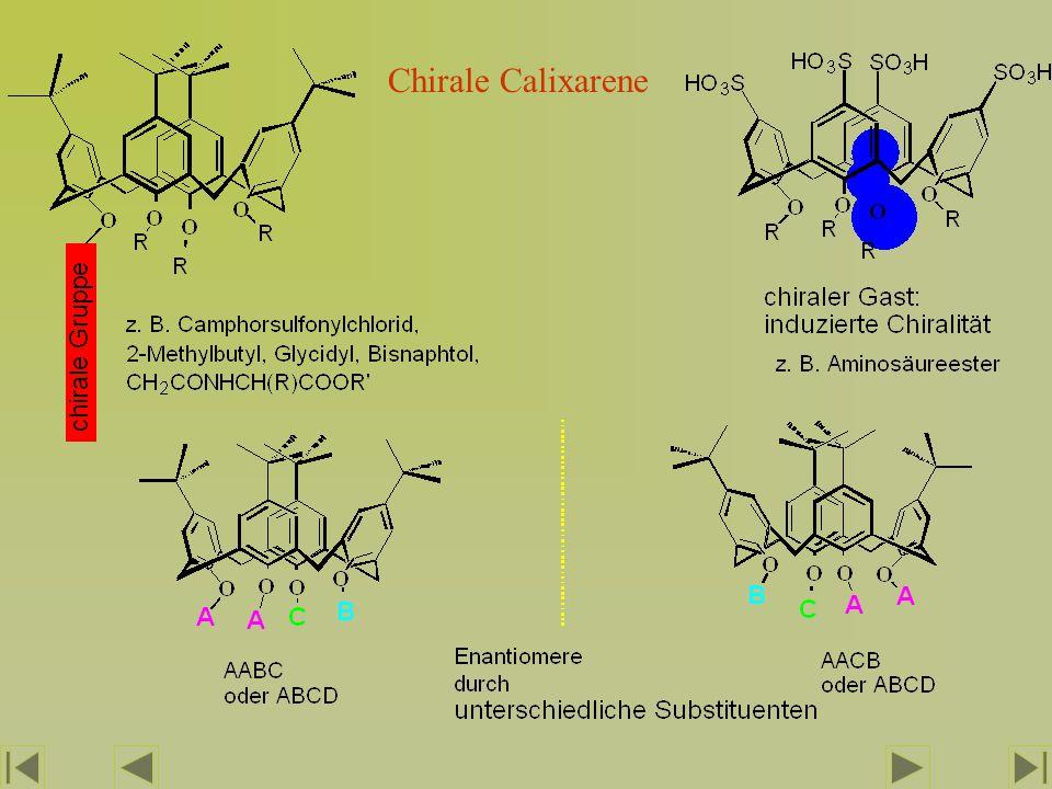 Chirale Calixarene