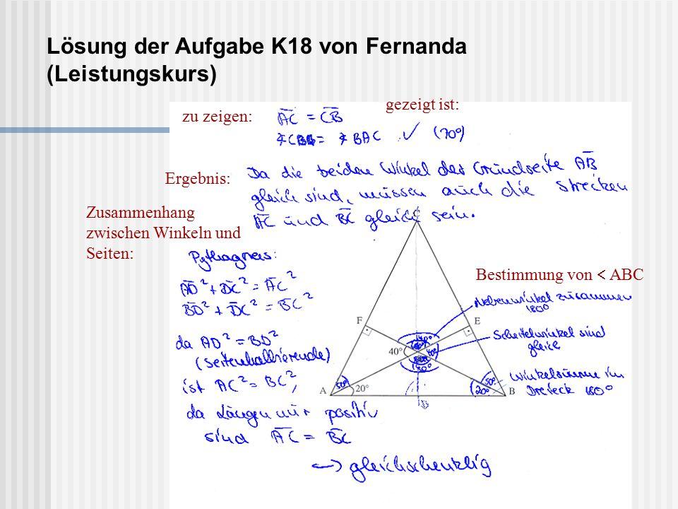 Lösung der Aufgabe K18 von Fernanda (Leistungskurs)