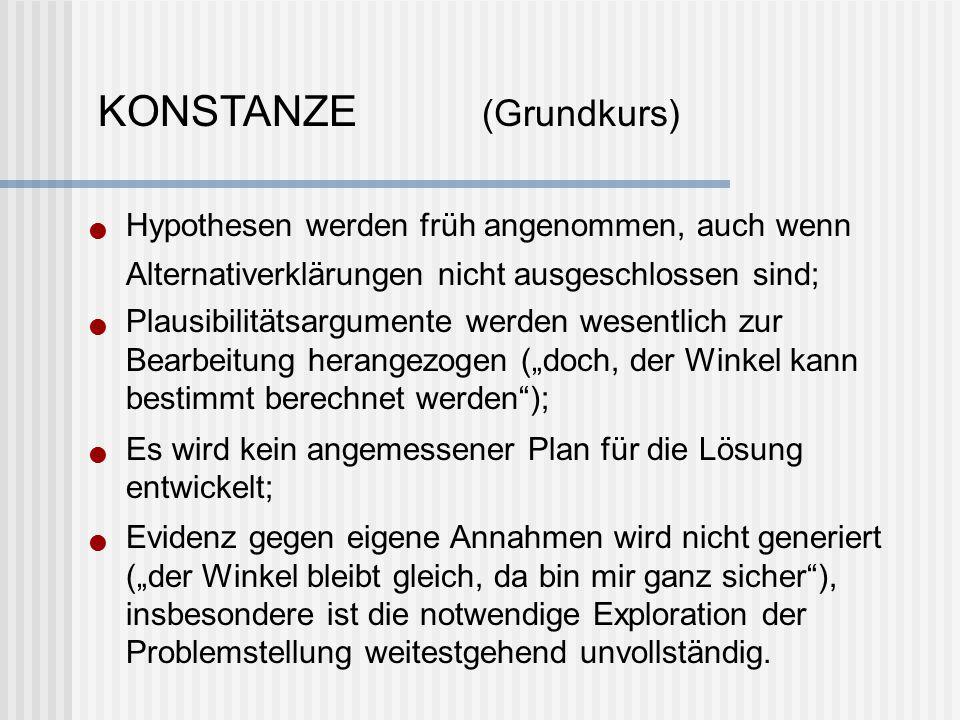 KONSTANZE (Grundkurs)