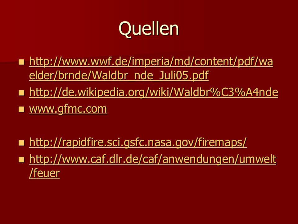 Quellen http://www.wwf.de/imperia/md/content/pdf/waelder/brnde/Waldbr_nde_Juli05.pdf. http://de.wikipedia.org/wiki/Waldbr%C3%A4nde.