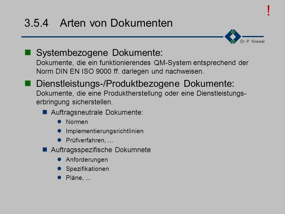 ! 3.5.4 Arten von Dokumenten.