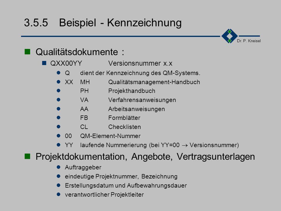 3.5.5 Beispiel - Kennzeichnung
