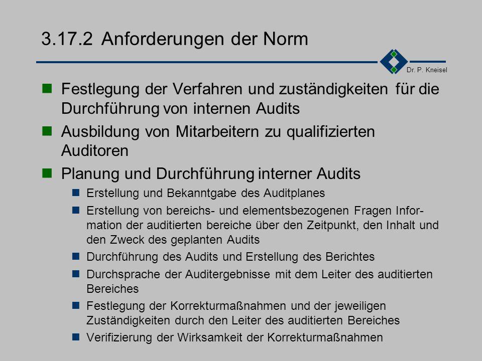 3.17.2 Anforderungen der Norm