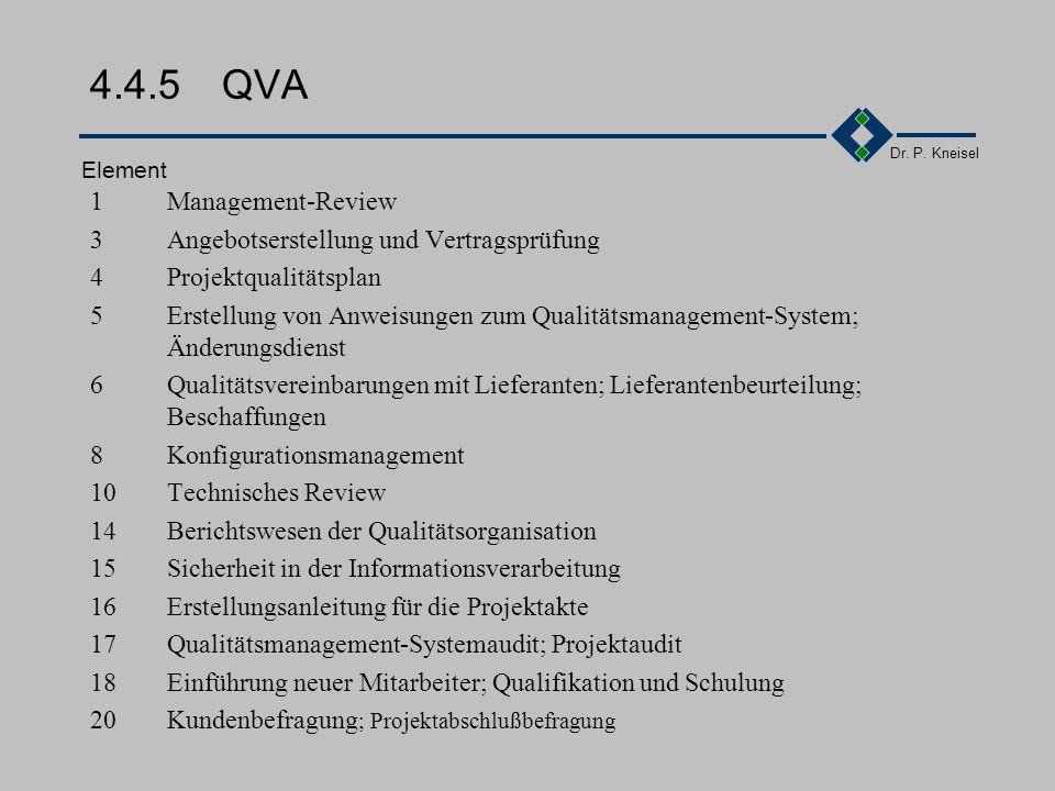 4.4.5 QVA 1 Management-Review 3 Angebotserstellung und Vertragsprüfung