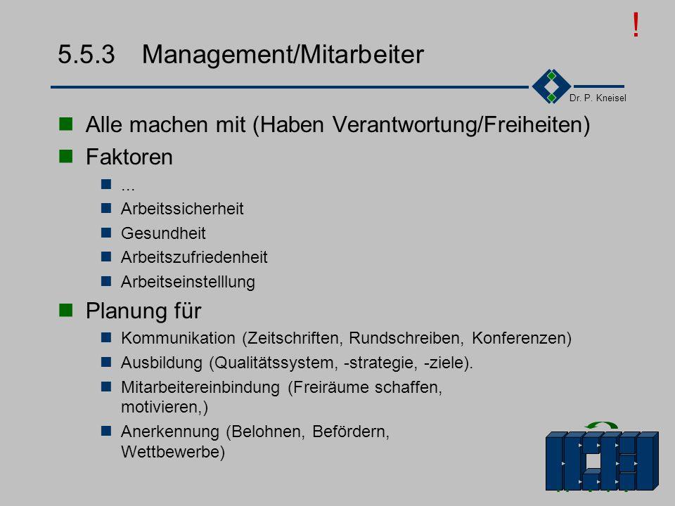 5.5.3 Management/Mitarbeiter