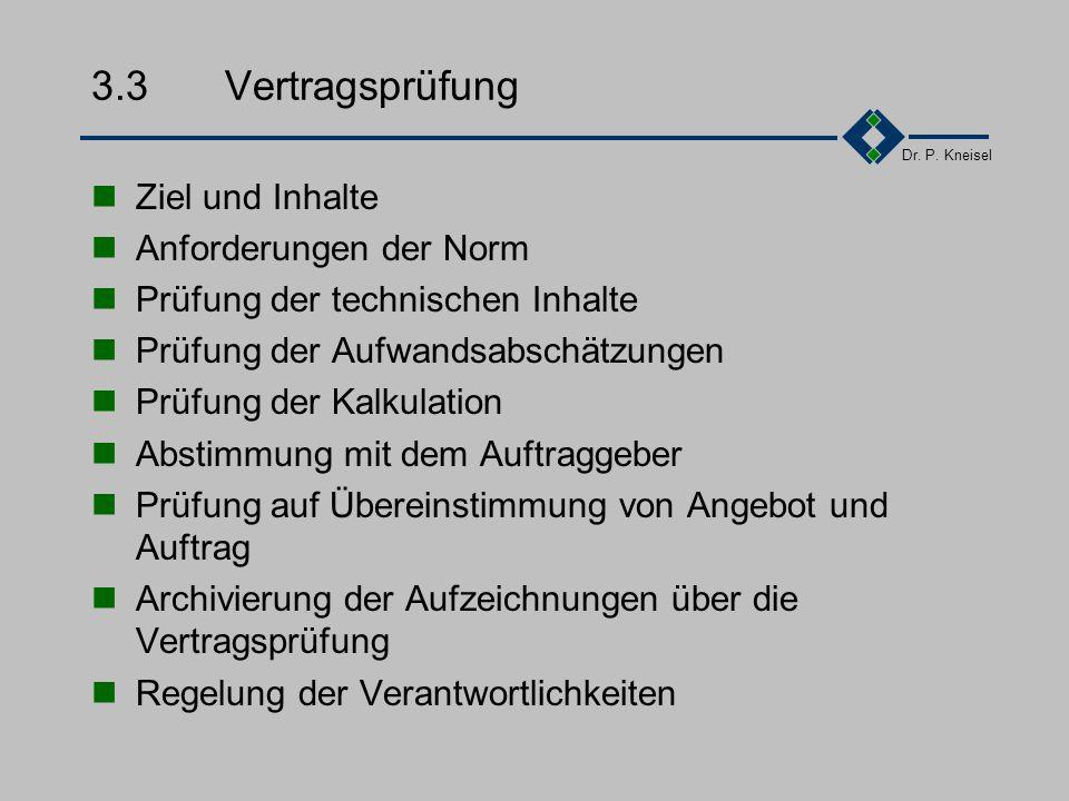 3.3 Vertragsprüfung Ziel und Inhalte Anforderungen der Norm