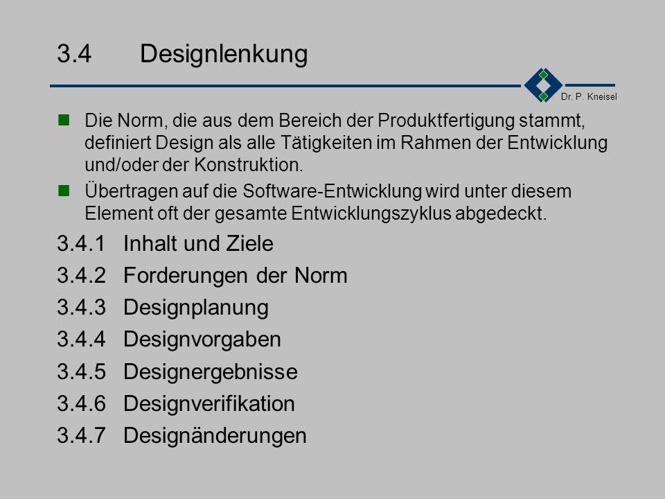3.4 Designlenkung 3.4.1 Inhalt und Ziele 3.4.2 Forderungen der Norm