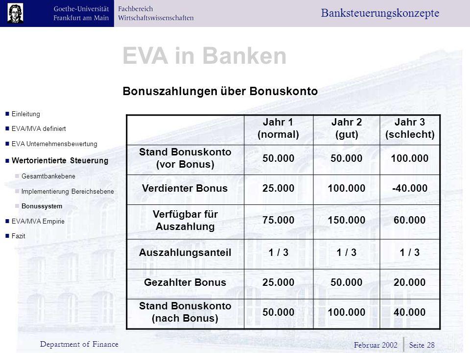 Bonuszahlungen über Bonuskonto