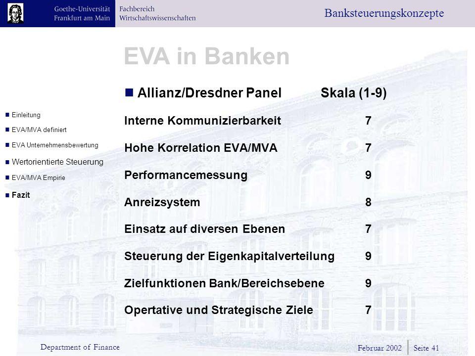 Allianz/Dresdner Panel Skala (1-9)