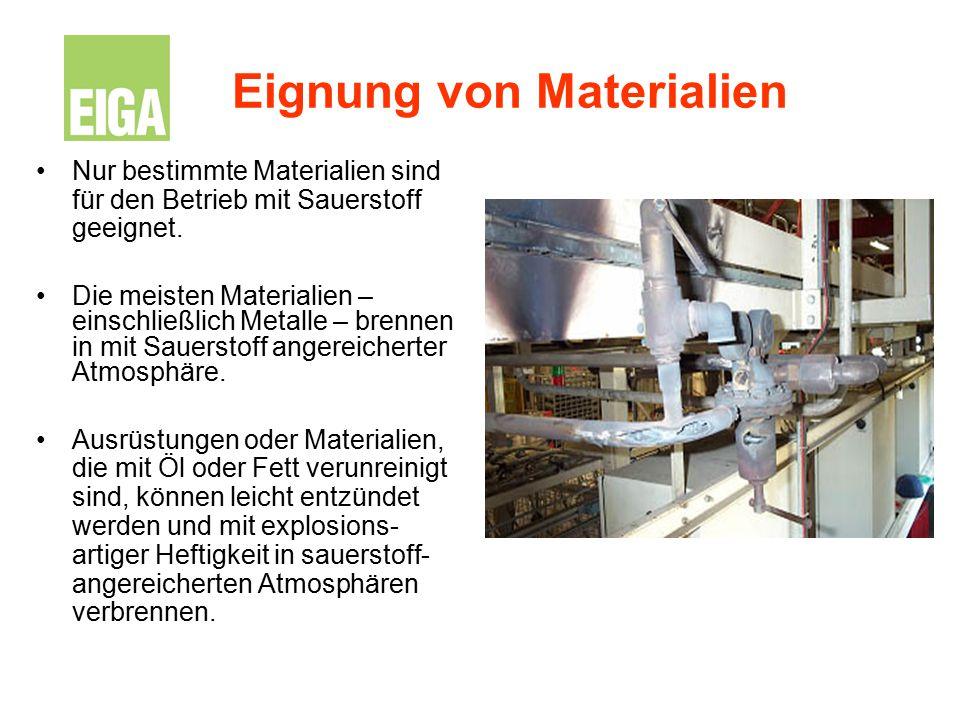 Eignung von Materialien