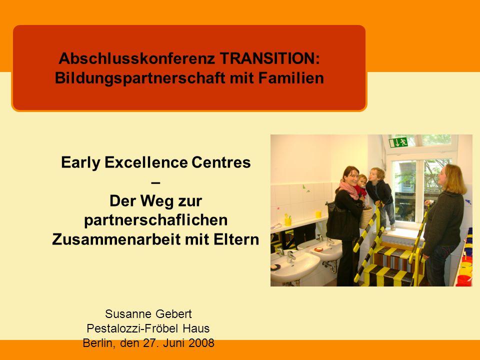Abschlusskonferenz TRANSITION: Bildungspartnerschaft mit Familien