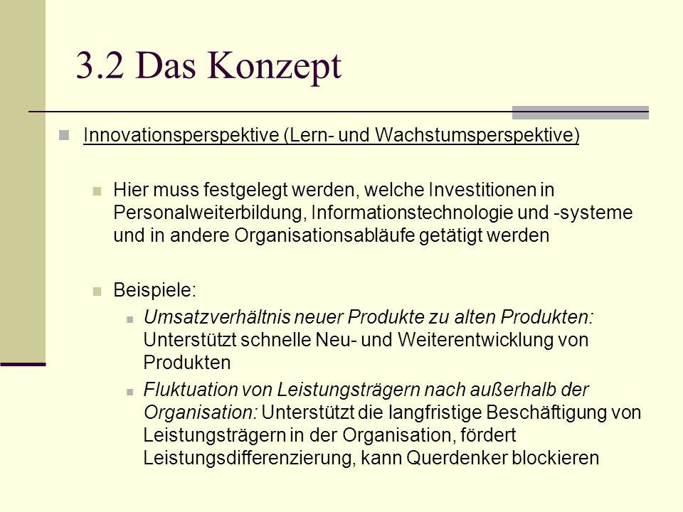 3.2 Das Konzept Innovationsperspektive (Lern- und Wachstumsperspektive)