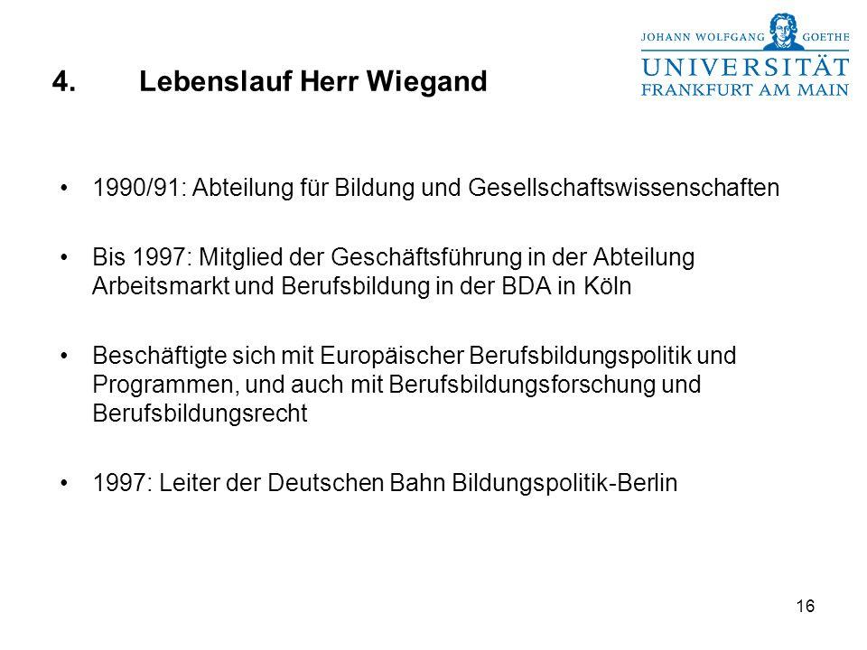 4. Lebenslauf Herr Wiegand